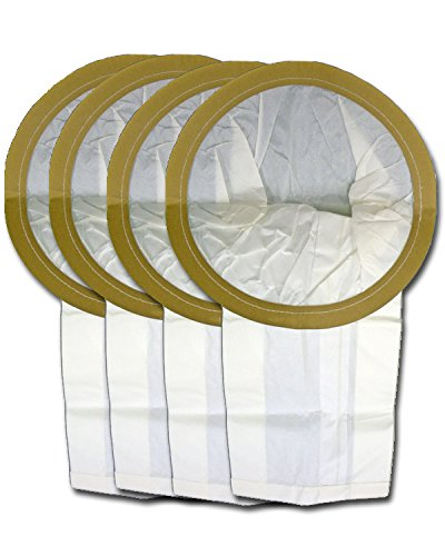 EnviroCare Replacement Vacuum Cleaner Dust Bags Made to fit Filtex Central Vacuum 12 Gallon 4 Pack