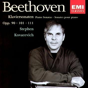 Beethoven - Piano Sonatas 27, 28, 32
