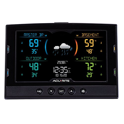 Product Image 4: AcuRite 02083M Home Temperature & Humidity Station with 3 Indoor/Outdoor Sensors