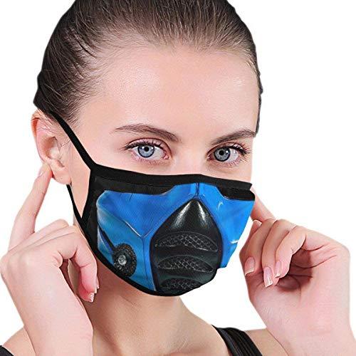 Sub Zero Bandana Warrior - Decoraciones faciales reutilizables lavables para hombres, mujeres y niños