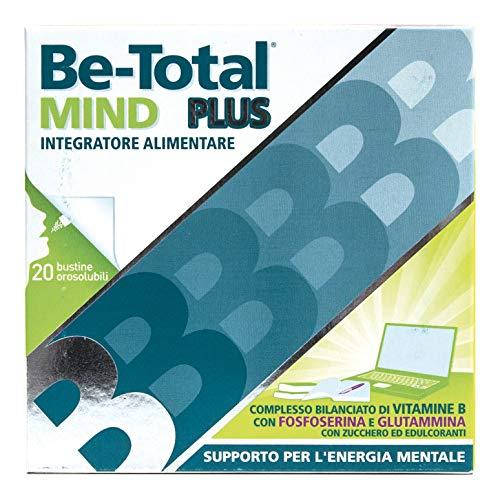 Be-Total Mind Plus Integratore Vitamine B Fosfoserina E Glutamina, 20 bustine