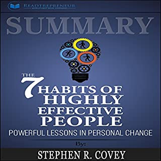 Summary: The 7 Habits of Highly Effective People: Powerful Lessons in Personal Change cover art