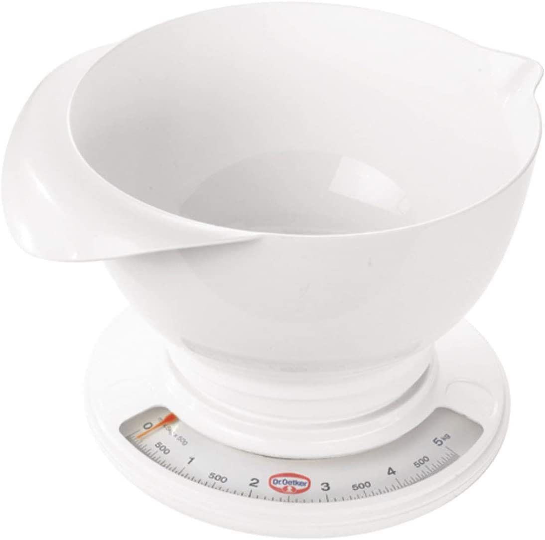 Dr. Oetker 1534 Year-end gift Analog Baking Scale with Mixing Sale price Bowl