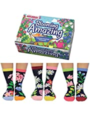 United Oddsocks Blooming Amazing Floral Themed Oddsocks