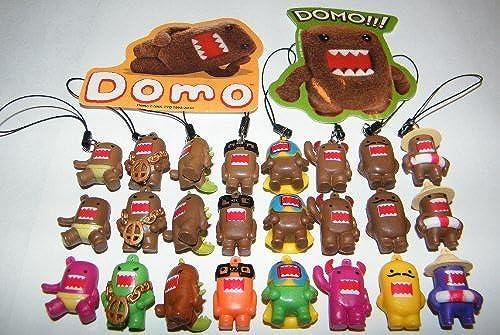 barato Domo Figure Charm Mega Set Set Set of 24 with Classic marrón, Colorojo and Fun Dangler Figures by AA CO  alta calidad y envío rápido