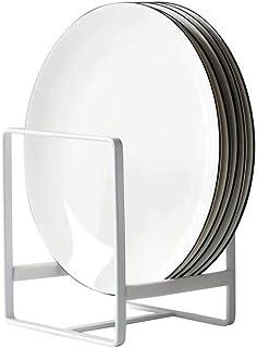 Organisateur d'Étagère à Assiettes,1 pièce 12*14cm Supports à Assiettes Organisateur Vertical de Stockage de Vaisselle en ...