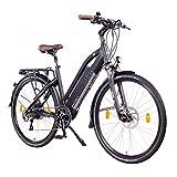 NCM Milano Plus Bicicletta elettrica da Trekking, 250W, Batería 48V 16Ah 768Wh 28' Nero