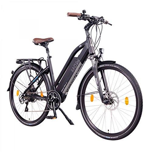 NCM Milano Plus Bicicleta eléctrica de Trekking, 250W, Batería 48V 16Ah •...