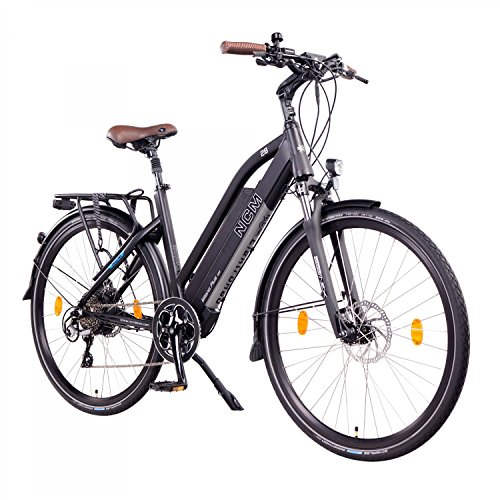 "NCM Milano Plus Urban E-Trekking E-Bike 48V 16Ah 768Wh Schwarz 26\"""