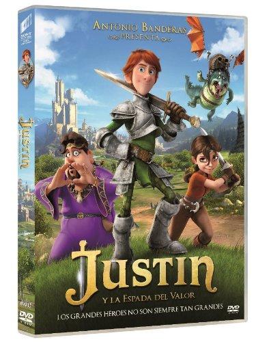Justin Y La Espada Del Valor [DVD]