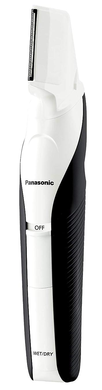 ワークショップ輝く誰かパナソニック ボディトリマー お風呂剃り可 男性用 白 ER-GK60-W