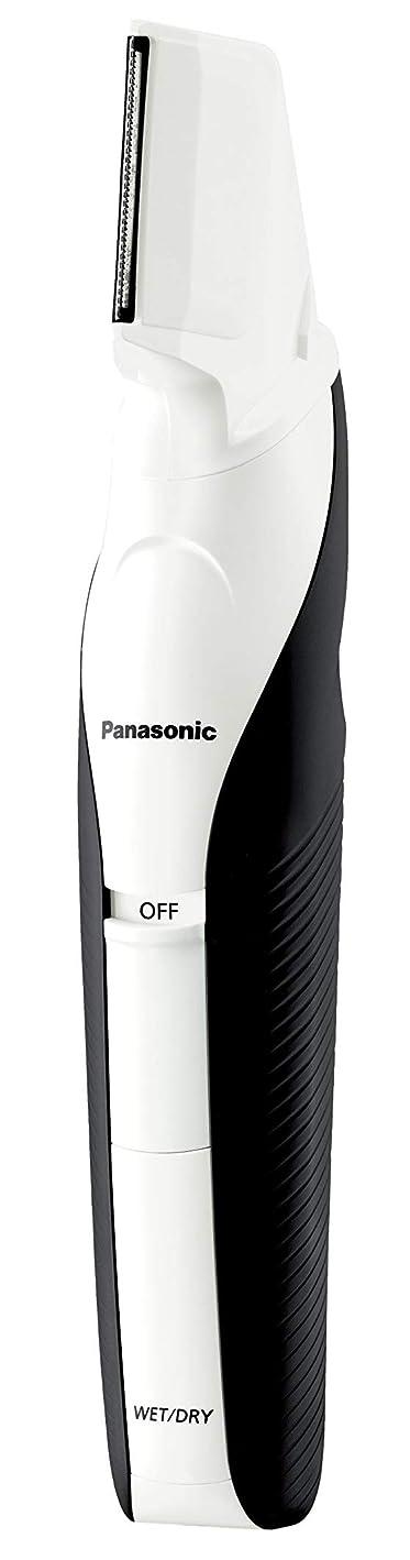 束ムス引き出すパナソニック ボディトリマー お風呂剃り可 男性用 白 ER-GK60-W