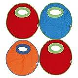 Ti TIN Pack 4 Baberos Impermeables para Bebés de Más de 1 año con Cuello de...