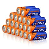 20 Count Alkaline Battery 1.5V LR1 N E90, Long Lasting, All-Purpose N Battery for Household and Business
