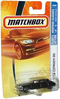 Matchbox 2008 Heritage Classics #1 68 Citroen DS Black 1 of 8