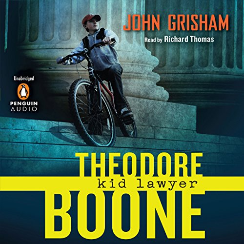 Theodore Boone: Kid Lawyer audiobook cover art