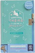 Mr. Wonderful WOA10102ES Diario con Candado - Todas Esas Cosas que me Pasan