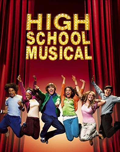 24inch x 30inch/60cm x 76cm High School Musical The Musical The Series Season 1 Silk Poster Christmas Gift For Family Best Gift For Childrenr