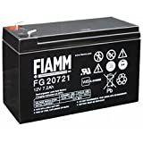 FIAMM IC-FG20721 BATTERIA AL PIOMBO 12V 7,2AH (FASTON 4,8MM)
