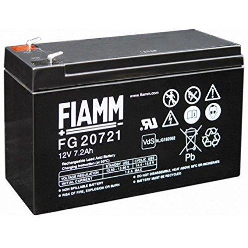 FIAMM IC-FG20721 BATTERIA AL PIOMBO 12V 7,2AH (FASTON 4,8MM)