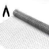 BSTWM Chicken Wire Net 16.9 Inches x 6.6 Feet x...