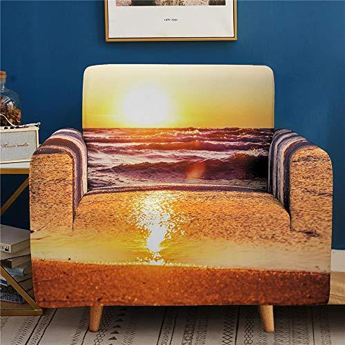 3D Digital Landscape Printing Sofa Cover, Dust-Proof, Non-Slip High Elastic Sofa Cover 1 2 3 4 Seats