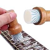 01 Cera para Guitarra Lubricante para Cuerdas de Guitarra Limpiador de Cera para Cuerdas portátil para Guitarra Limpia...