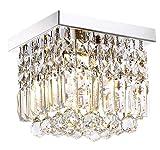 Moooni Hallway Crystal Chandelier 1 - Light W8' Mini...