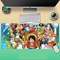 DGSJH ゲーミングマウスパッドPMousepadロック付きEeゲームパッドマウス大型漫画ラバーマウスパッドキーボードコンピューターマット男性用ギフト(サイズ:800x300x3mm)OUS2031