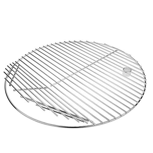 Grisun 19.5 Inch, 304 Round Cooking Grate Grids for Akorn Kamado...