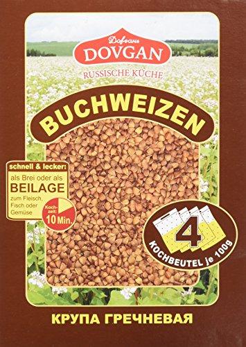 Dovgan Buchweizen im Kochbeutel, 5er Pack ( 5 x 400 g )