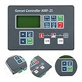 Controlador automático de generador diésel, AMF-25 Controlador de grupo electrógeno...