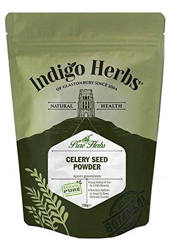Indigo Herbs Polvo de Semilla de Apio 250g