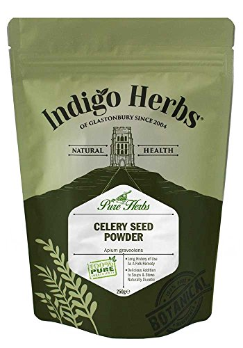 Indigo Herbs Polvere di Semi di Sedano 250g