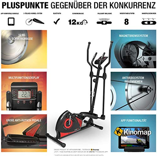 Sportstech CX608 Crosstrainer - 6