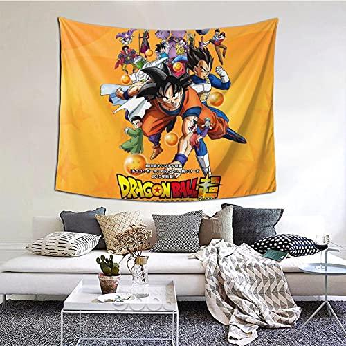 1122 Tapiz con diseño de bola de dragón, para dormitorio y sala de estar, decoración del hogar, 60 x 129,5 cm