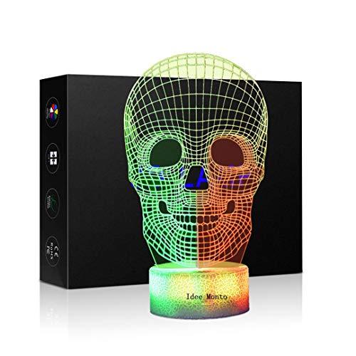 3D Optical Illusion Night Light