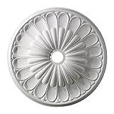 ELK Lighting M1009WH Melon Reed Ceiling Medallion 32' in White