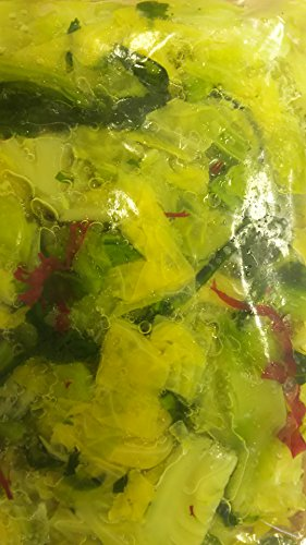 オール国産 野沢菜 キャベツ漬け 1kg 漬け物 冷凍