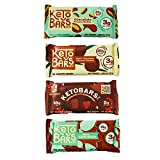 Keto Bars The Original Keto Snack Bar, Gourmet Simple Ingredients Low Carb, No Sugar, Rich in Ketogenic Fats, The Perfect KetoBars Snacks for Keto Diet Food Products (12 Pack, 1.65 oz)