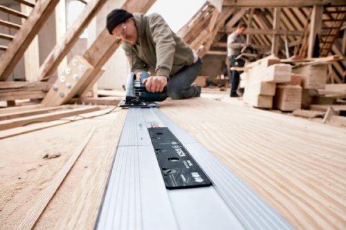 Bosch Professional Führungsschiene FSN 1100 (1,10 m Länge, Zubehör für Kreissägen von Bosch Professional, im Karton) - 6