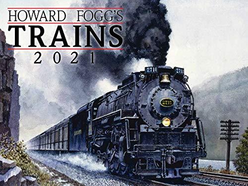 Howard Fogg's Trains 2021 Wall