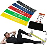 Serious Steel Fitness Mini Loop Band | Rehab Stretch Bands | Workout Fit Loop Bands (12 inch Mini Bands)