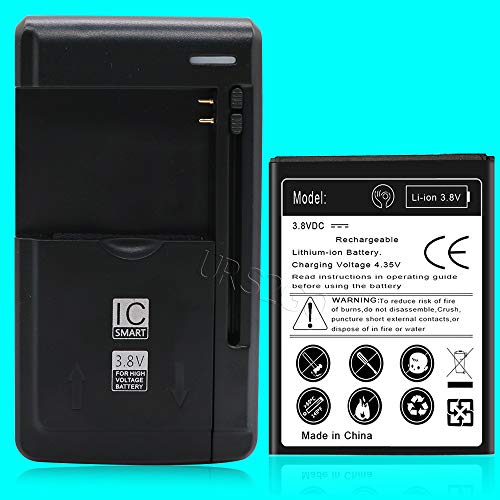 3200mAh Durable and High Capacity Battery with USB Charger Replacement for ZTE Grand X 3 Z959 Cricket Phone
