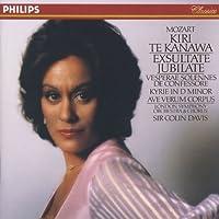 Mozart: Exsultate, Jubilate, K. 165; Vesperae solennes de confessore, K. 339; Kyrie in D minor, K. 341; Ave verum corpus, K. 618 (1990-10-25)
