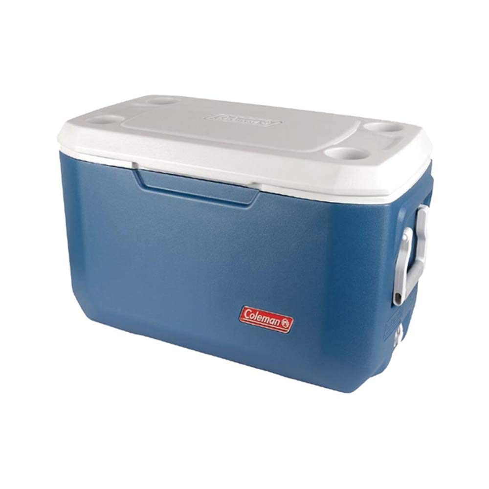 Coleman 70QT Campingküche Kühlbox 64L blau/weiß