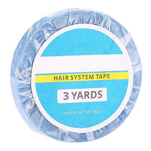 ANGGREK 3 mètres, Pas d'éclat Outil de beauté de Collage de Cheveux Double Face imperméable à l'eau Nano Extension de Cheveux Bandes de Colle adhésives Bande de Perruque pour postiche postiche