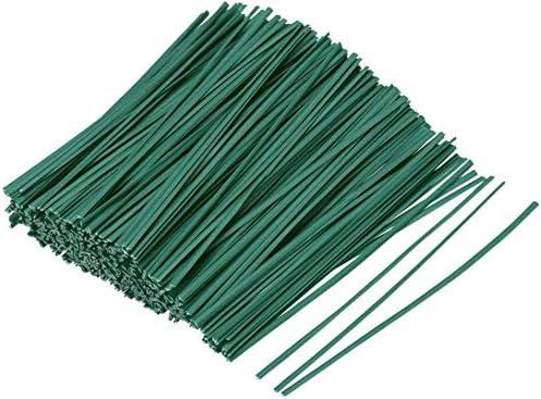 LAVZAN 500pcs 6inch Black Twist Ties//Twist Tie//Cable Ties//Cable Tie
