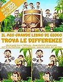 Il Mio Grande Libro di Gioco Trova le differenze - 40 pagine, oltre 300 differenze - Libro...