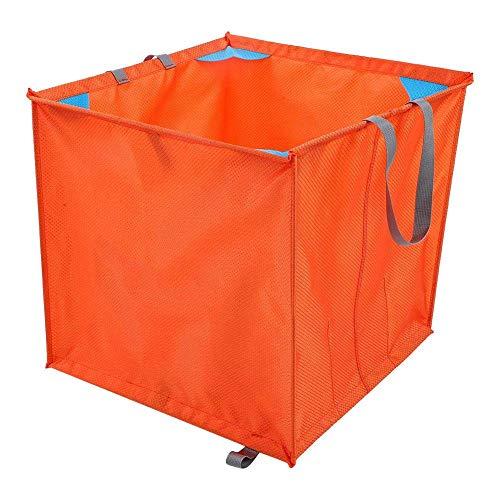 BEYONDTIME Rope Bag Kletterplatz Kletter Folding Seil Korb Oxford-Tuch Im Freien Kletterwerkzeug-Zubehör Storage Basket Orange